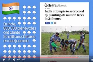 Tour du monde des bonnes nouvelles 2016 - Courrier International